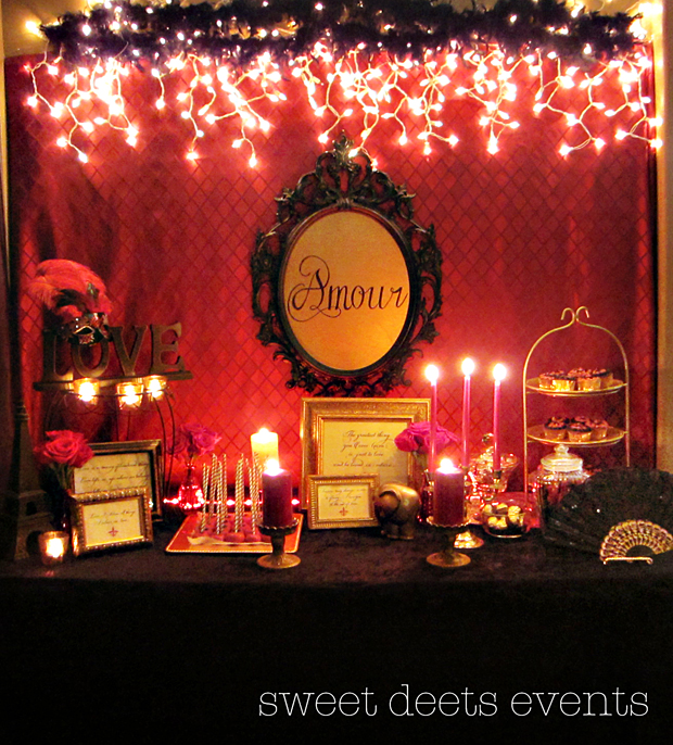 Sweet Deets Moulin Rouge Shower
